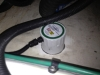 50W CleanABoat Ultrasonic Antifouling Transducer bonded to hull in Riviera M430