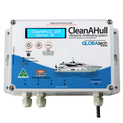 CleanaHull Double Ultrasonic Anti-fouling MGPS system control module