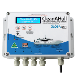 CleanAHull Quad ultrasonic anti-fouling mgps system control module