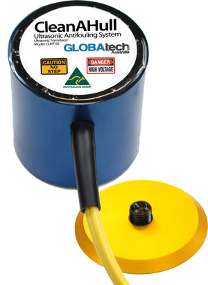 CleanAHull Ultrasonic Transducer by Globatech Australia