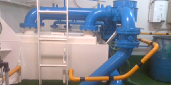 MGPS Marine Growth Protection systems with cleanahull for seachest and strainers