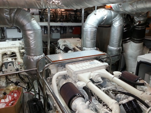 Engine Room on 80\' Montifino