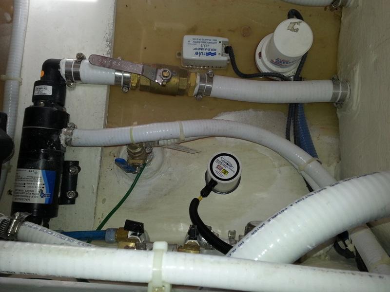 Clipper MotorYacht Ultrasonic Antifouling Hull Transducer Installation