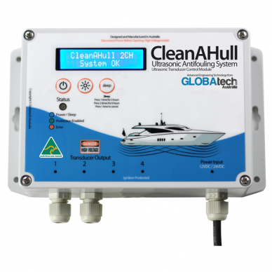 CleanAHull Double Ultrasonic Antifouling System