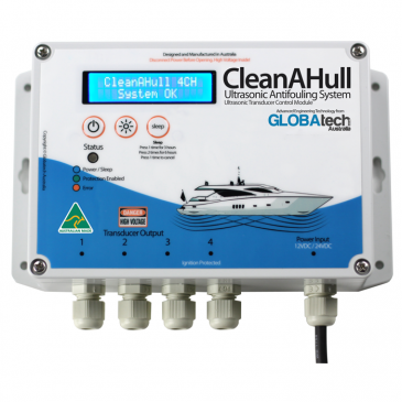 CleanAHull Ultrasonic Antifouling System